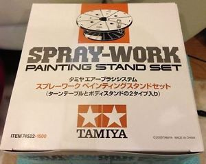 Tamiya-Spray-Work-Painting-Stand-Set-74522-F-S-New