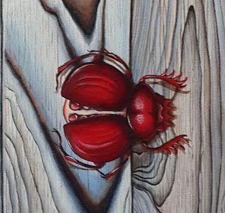 """Fragment of """"Hidden features"""", acrylic on canvas, 40 x 50cm. Фрагмент картины """"Скрытые возможности"""", акрил на холсте, 40 х 50см."""