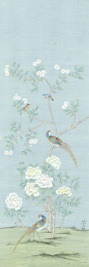 The Rockefeller - Blue - Individual Wall Panel - #1 [PANEL-18021] : Designer Wallcoverings™