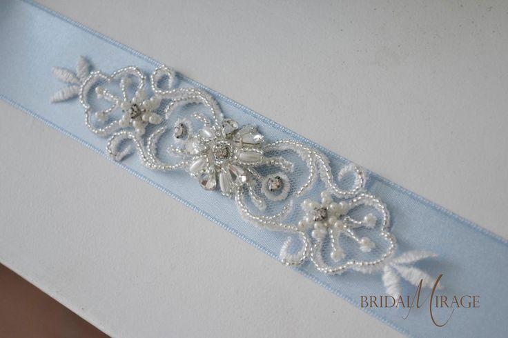 Bridal Belt #wedding #esküvő #menyasszony #menyasszonyiöv #kék #bridalmirage
