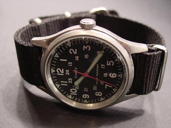 Timex x J Crew Military Watch