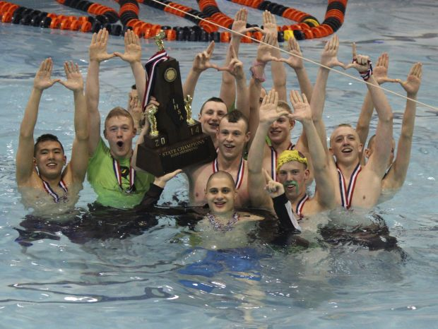Miller, Drury power U High to state swimming crown : High-school
