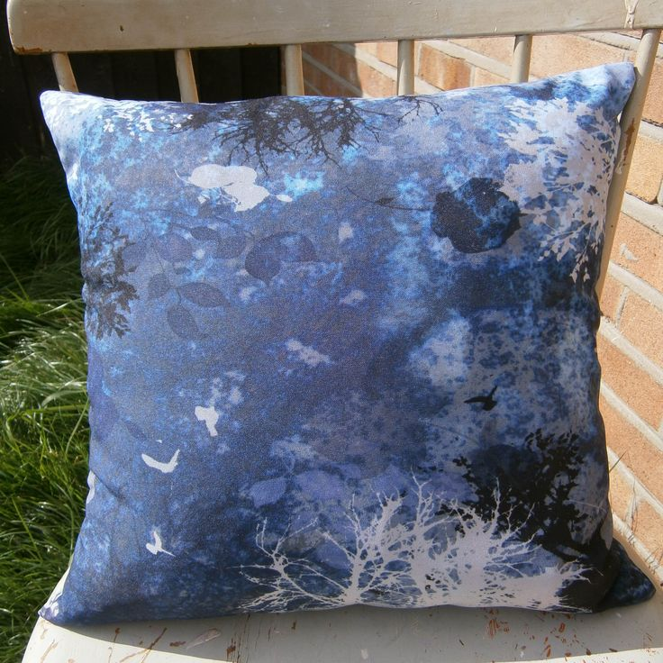 Night Time Forest Cushion £20.00