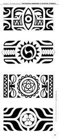 Micronesian Tattoo Designs | Polynesian Tattoo Bracciali #marquesantattoospatterns