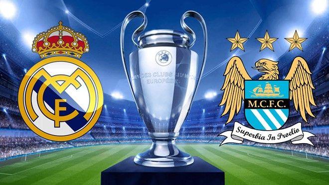 Trực tiếp Real Madrid vs Man City