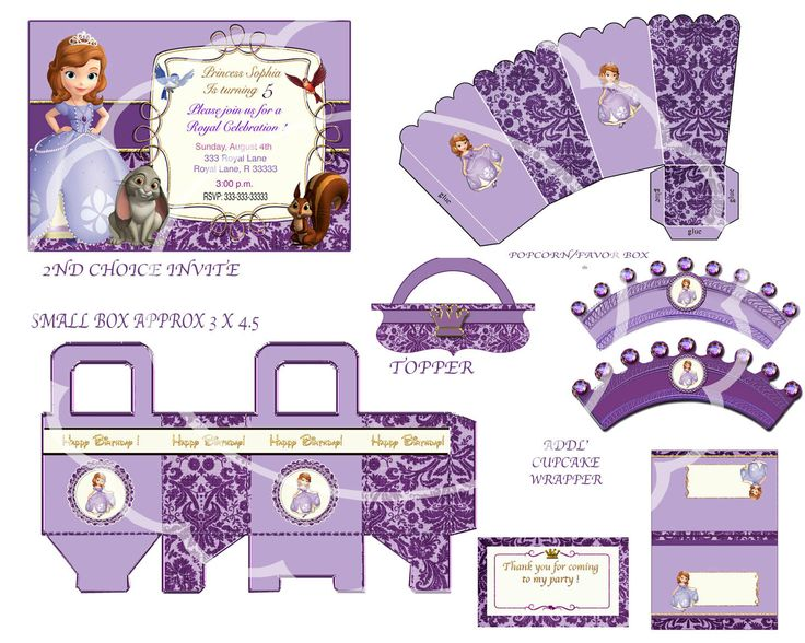 sophia the first birthday sofia the first by blueangeldigitals, $21.99