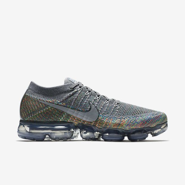 Constitución Arenoso Ejercicio  Release des Nike Air Vapormax Flyknit Grey Multicolor ist im 18.01.2018.  Bei 99Kicks.com erfährst du alle wei… | Beautiful sneakers, Nike air  vapormax, Sneakers men