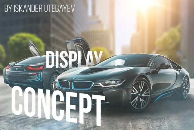 Concept Display Bmw i8