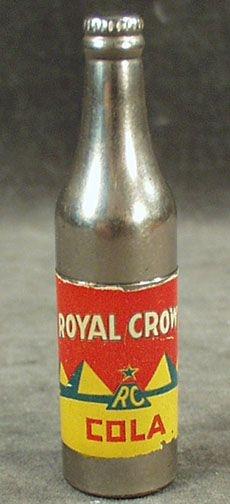 Vintage Royal Crown Soda Advertising Cigarette Lighter