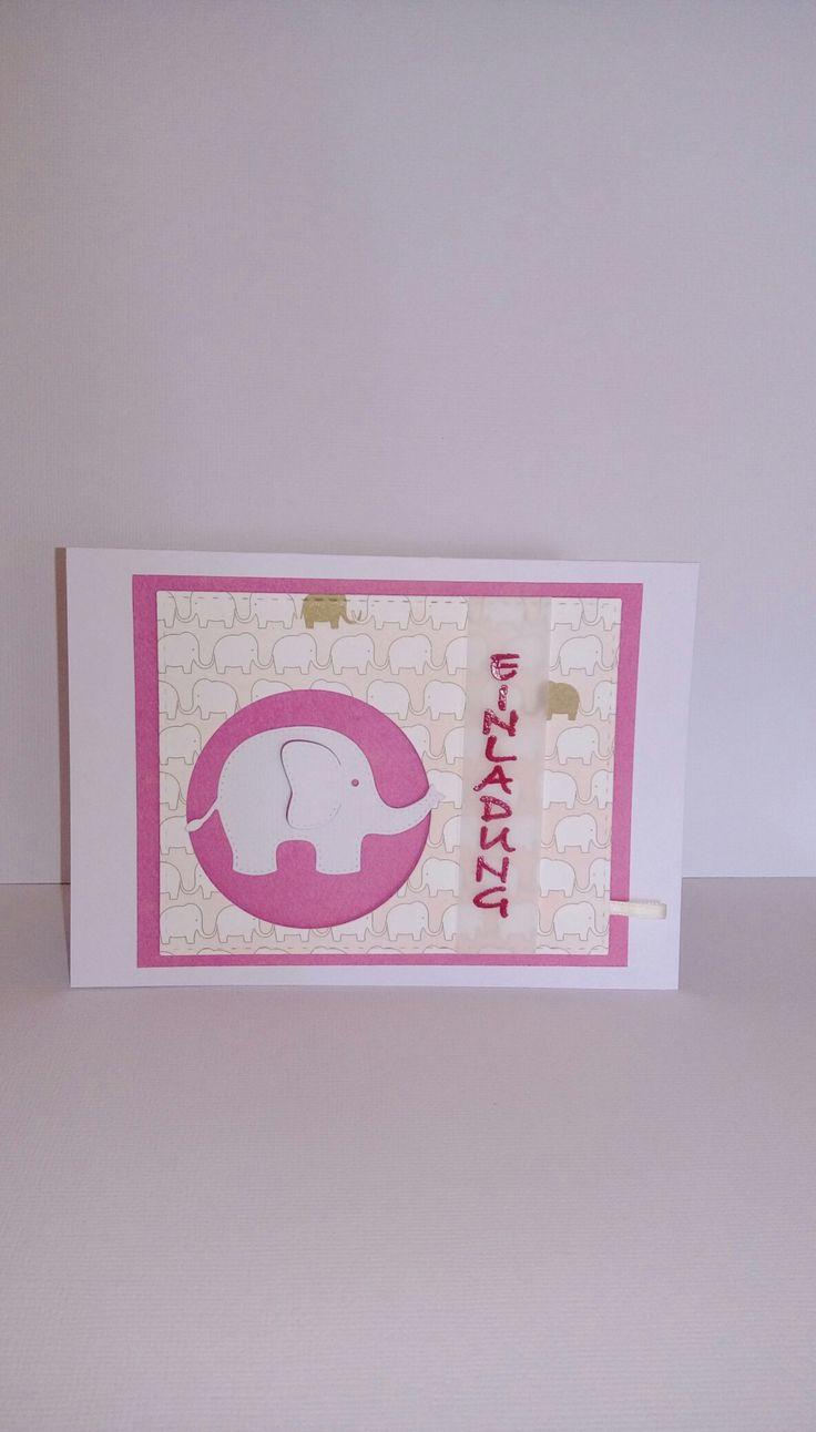 Einladung zur Taufe Elefant Alexandra Renke