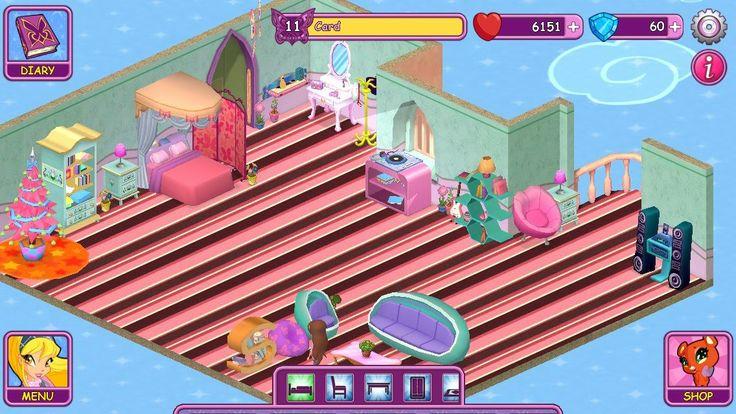 Winx Fairy School dorm by Card