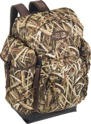 Cabela 39 s northern flight ultimate waterfowler 39 s rucksack for Cabelas fishing backpack
