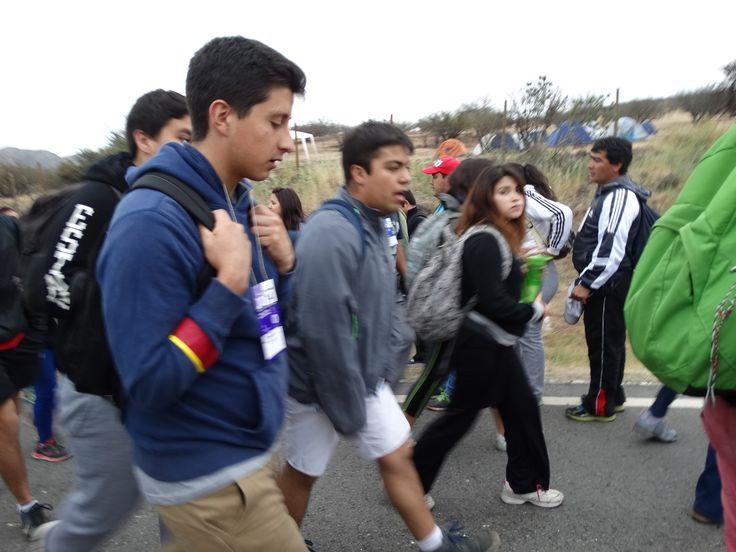 Caminata a Los Andes 2014