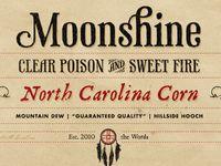 moonshine label