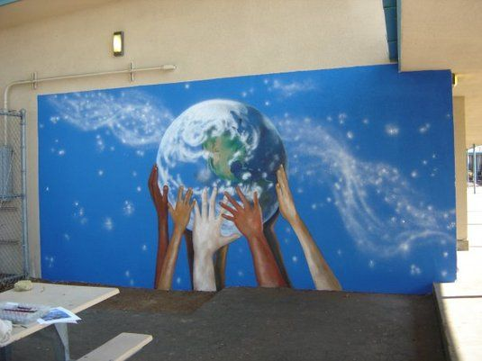 36 best images about mural ideas on pinterest music for Elementary school mural ideas