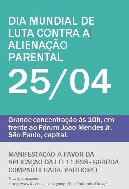 25 Kwietnia Międzynarodowy Dzień Świadomości Alienacji Rodzicielskiej Parental Alienation Awareness Day