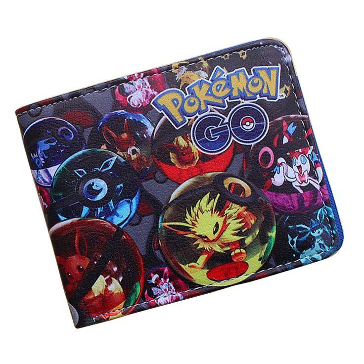 4.23$  Buy now - http://alicgq.shopchina.info/go.php?t=32787021565 - Pocket Monster Pokemon Wallet Cartoon Animation Pikachu Poke Ball Purse Creative Gift Childern Dollar Bags Folder Short Wallets  #buychinaproducts