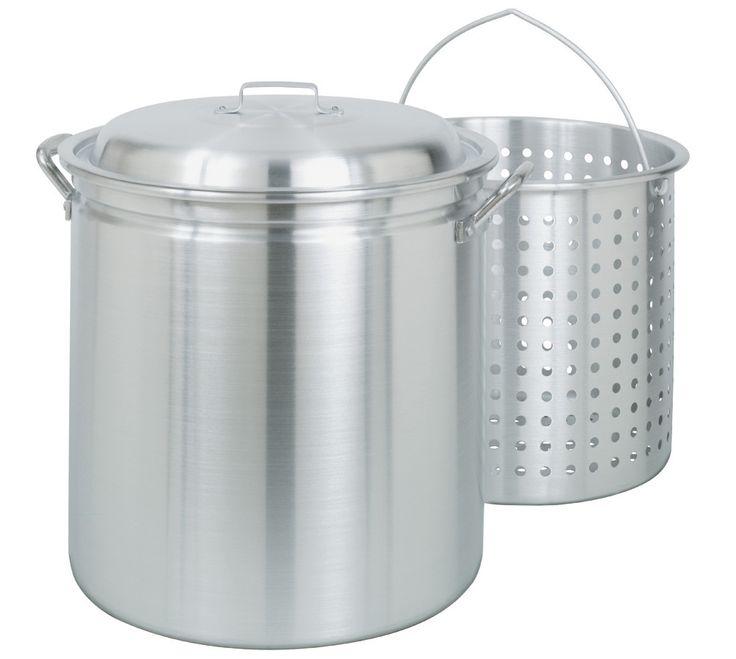 Bayou Classic 60 Quart Fryer / Steamer Stock Pot