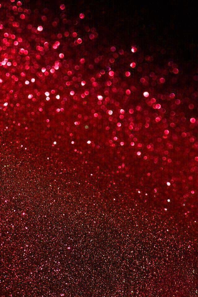 Red glitter | wallpaper | Pinterest | Red glitter ...
