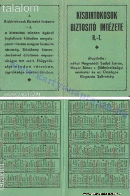 1944 - 1944_0008 - Régi magyar kártyanaptárak