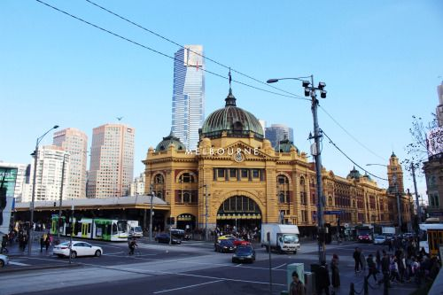 Melbourne: Golden If we're talking about fascinating architecture, then give Melbourne a look.