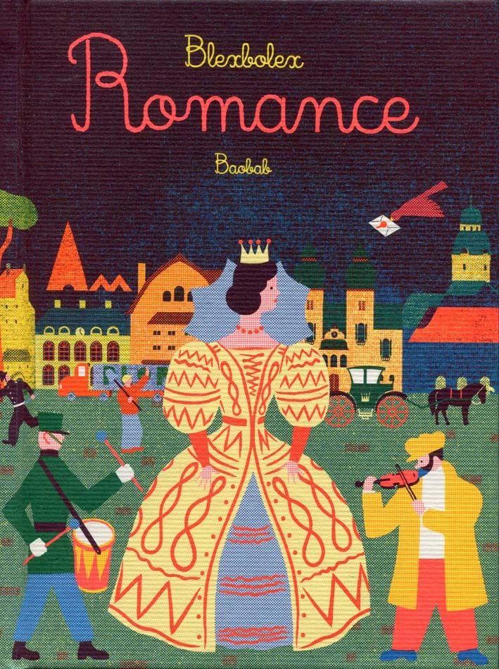 Blexbolex / Romance vydavateľstvo Baobab Bernard Granger, Francúzsko