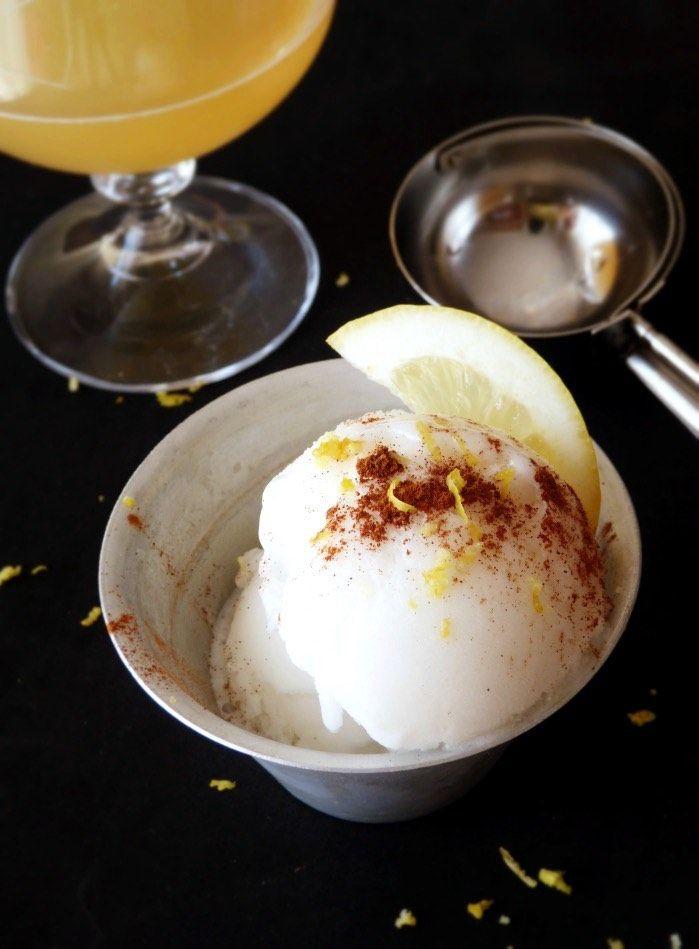 helado de cerveza con limón : via MIBLOG