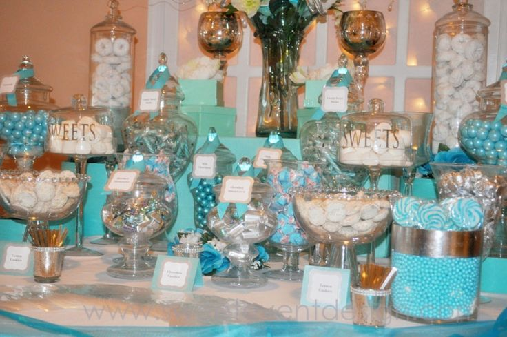 1000 Images About Tiffany Blue Candy Buffet On Pinterest