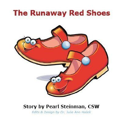 Runaway Red Shoes Board Book by Julie~J Designs. Save 56 Off!. $3.99. Hard to find book. Toddlers & Kids love the Red Shoes. Written by a Social Worker. 6 x 6 Board Book. 16 pages. This is a 6x6 board book for toddlers and children. The story of the Runaway Red Shoes was created to teach preschool children about colors, manners, animals, and feelings. The original story was told with flannel characters on a flannel board. Ultimately, after meeting many animals along the way, the shoes ...