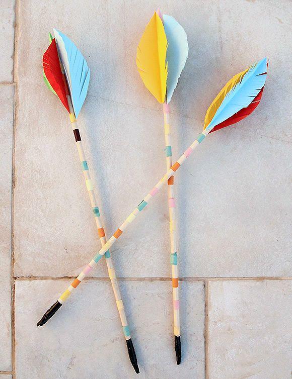 DIY de madera de clavijas de Tiro con Arco Flechas