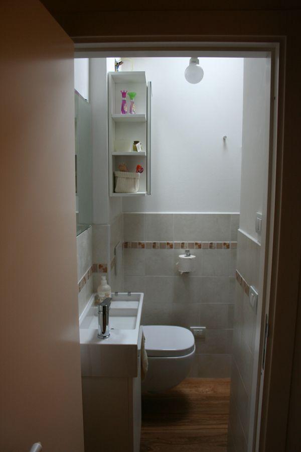 Un bagno piccolo piccolo