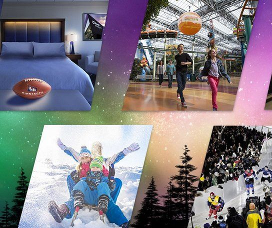Grand Prize: A $600.00 2-night stay at a participating Bloomington hotel; Super Bowl LII Cap; Bold North Coffee Tumbler; two Nickelodeon Universe Full Day Wristbands; two SEA LIFE Minnesota Aquarium passes; two FlyOver America tickets; $50 FireLake...