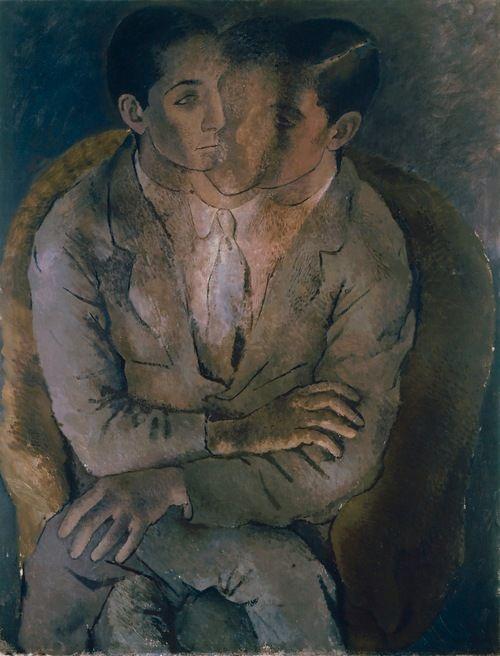 Pavel Tchelitchew,Untitled (Seated Man, Multiple Images)1927 (viatoutpetitlaplanete)