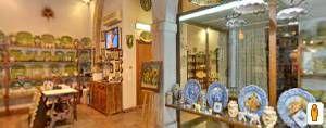 Tre Erre Ceramiche: negozio di ceramiche artistiche tradizionali siciliane in un meraviglioso locale del 1800. (Clicca sulla foto per aprire il tour virtuale)