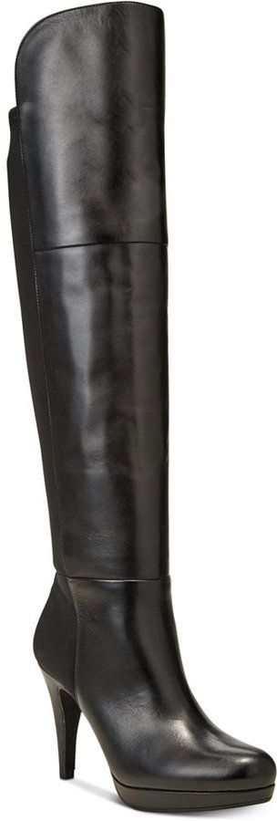 Adrienne Vittadini Plymouth Over-the-Knee Boots Women's Shoes