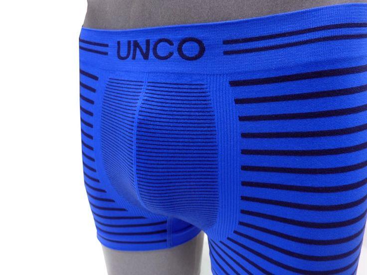 Pack 2 Boxers UNCO sin costuras en microfibra NA