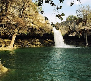 The Swiming Hole, Edge Falls, Texas