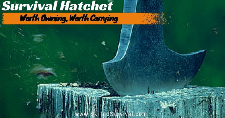 Survival Hatchet: Should You Be Carrying One?