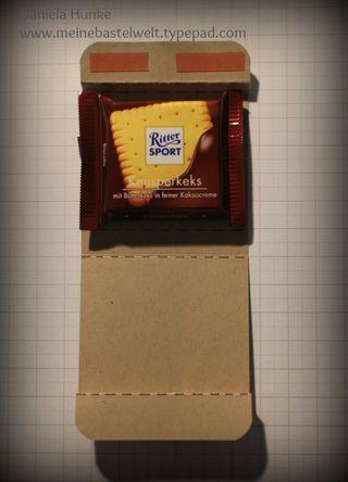 Süße Mini Ritter-Sport Verpackung
