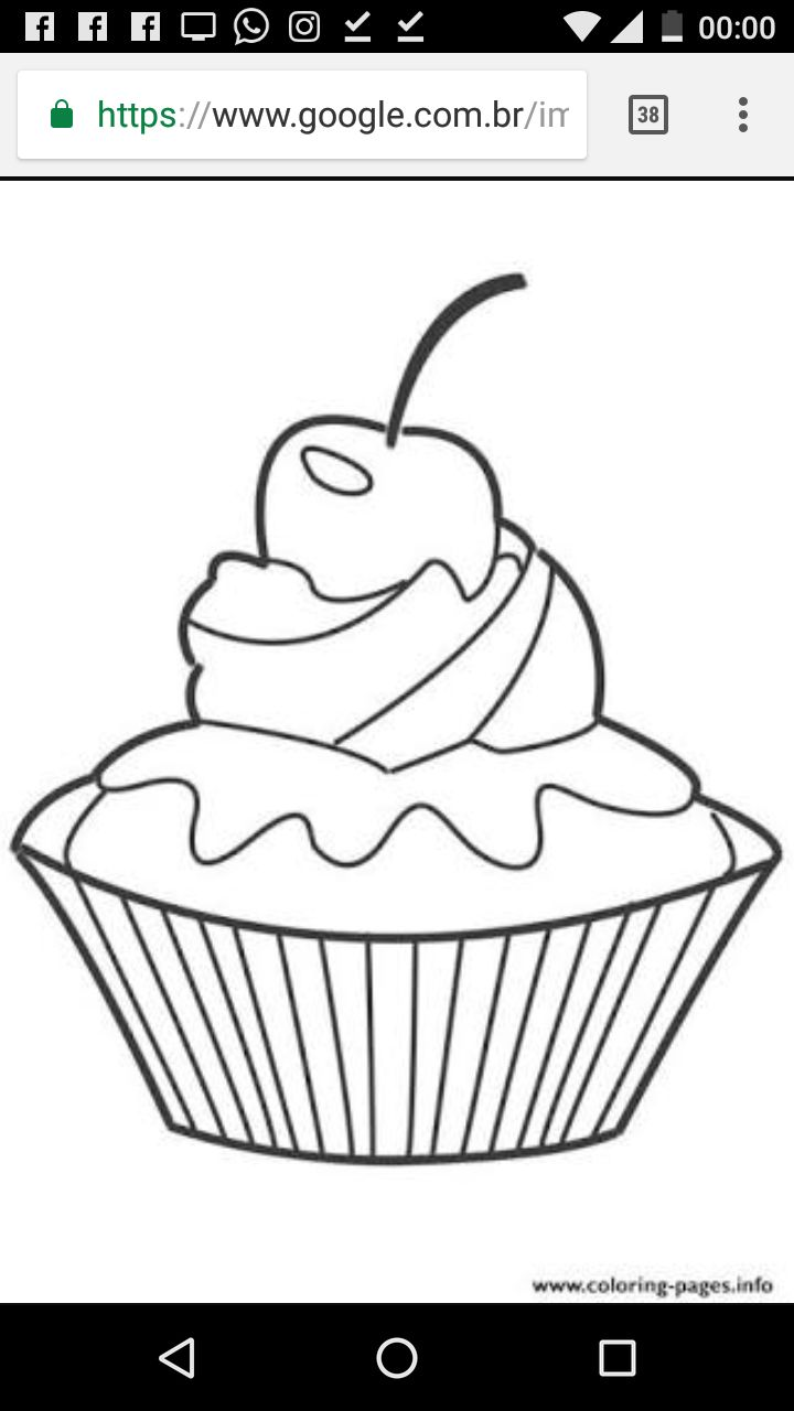 137 best risco de cupcake e sorvete images on pinterest drawings