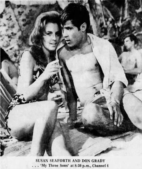 Susan Seaforth and Don Grady