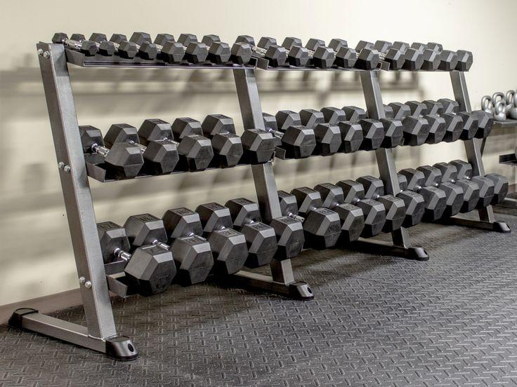 Huge Dumbbell Rack