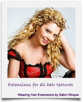 Hair Extensions by Salon Shique