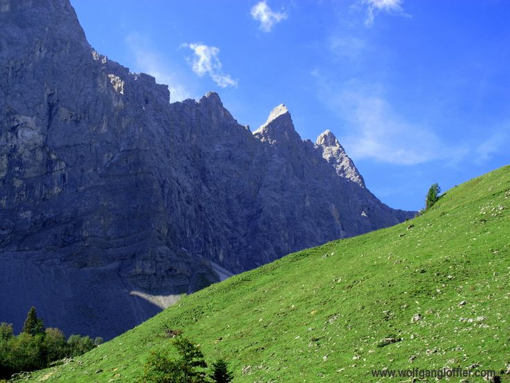 Laliederwände, Karwendel