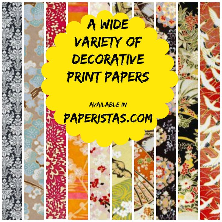 Need decorative print papers for your arts and crafts project? Check out all the creative  and unique prints from http://www.paperistas.com/decorative-print/