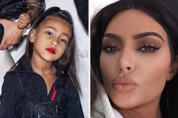 Kim Kardashian S Daughter North Is Already An Icon At Age 5 Beauty Videos Beauty Video Ideas Beauty