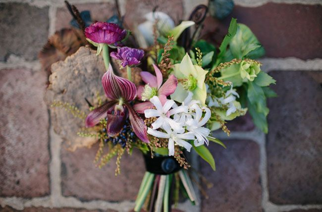 science inspired bouquet