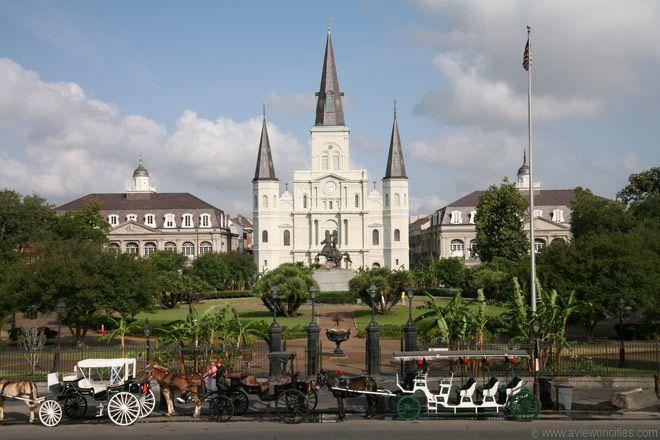 Jackson Square, New Orleans, LA