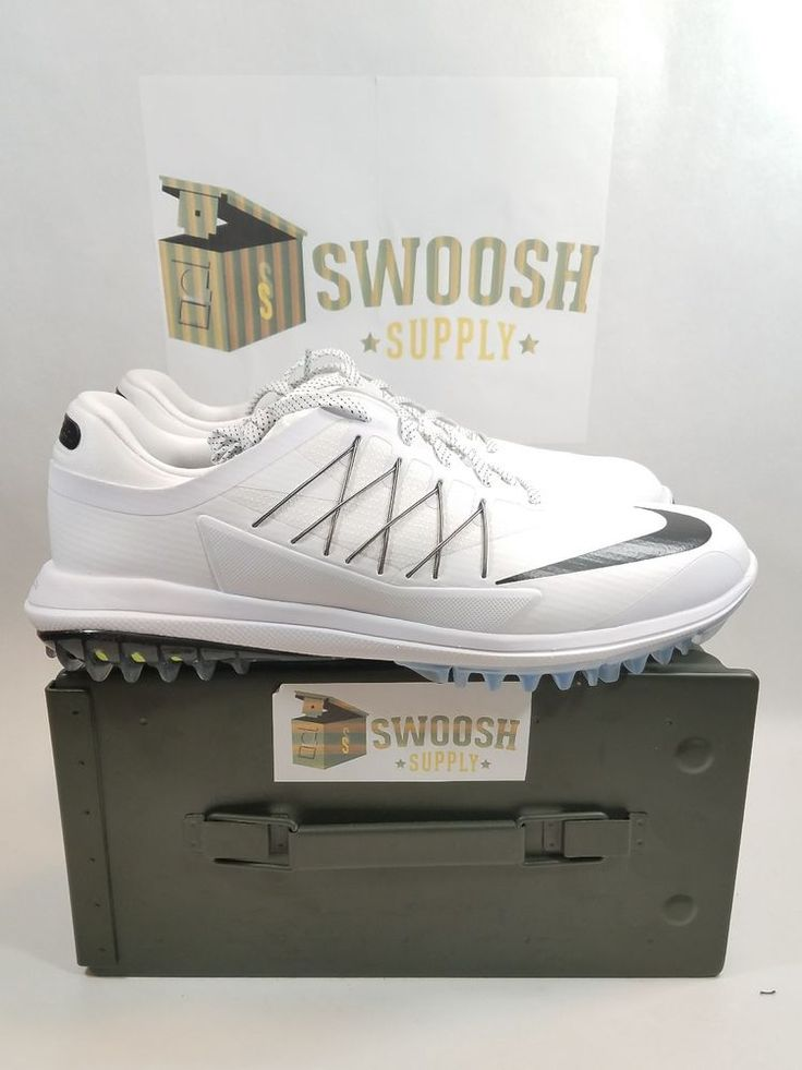 NikeGolf Lunar Control Vapor White Golf Shoes Mens Size 11 849971-100  #Nike #GolfShoes