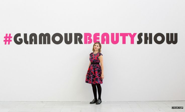 Beauty reporter for Glamour Italia at #GlamourBeautyShow
